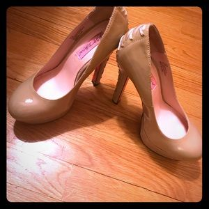 Nude Betsey Johnson pumps